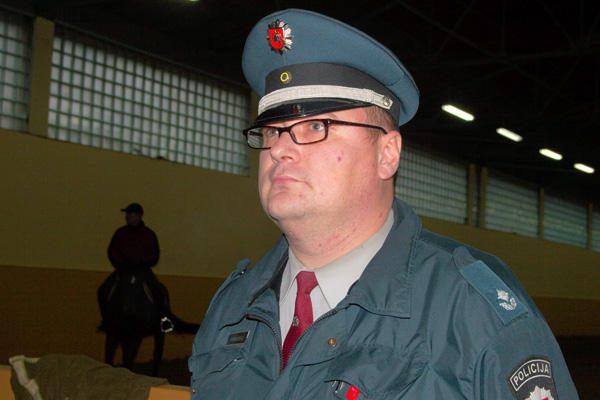 Buvęs Vilniaus raitosios policijos vadas po skandalo perkeltas į žemesnes pareigas