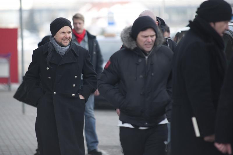 """""""Rammstein"""" muzikantai Kaune lėkė per raudoną šviesą"""