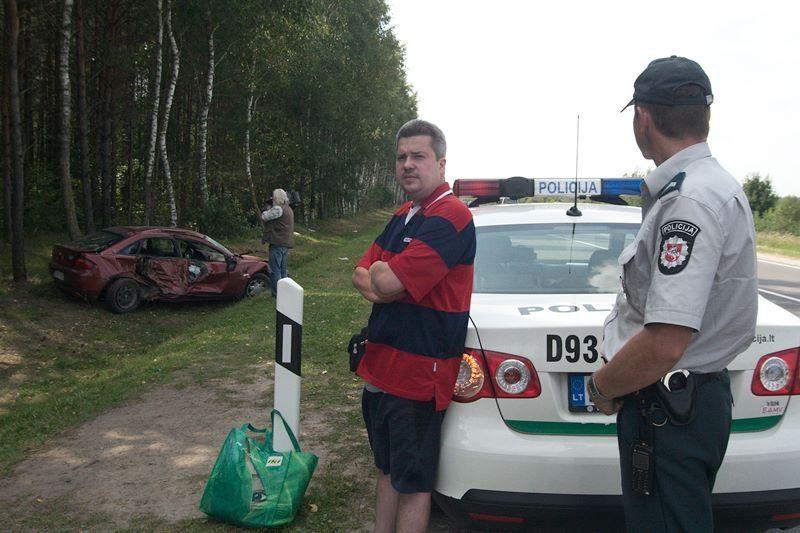 Kelyje į Trakus sekmadienį įvyko dvi avarijos (papildyta)