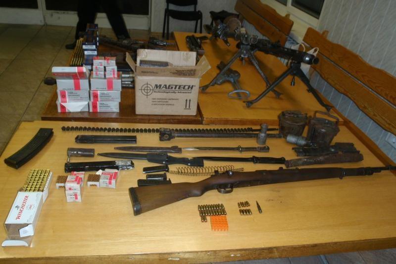 Vilniaus rajone vyras laikė ginklų arsenalą (papildyta)