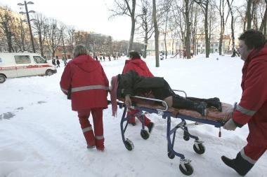 Naujametinis savaitgalis sostinės medikams buvo įtemptas