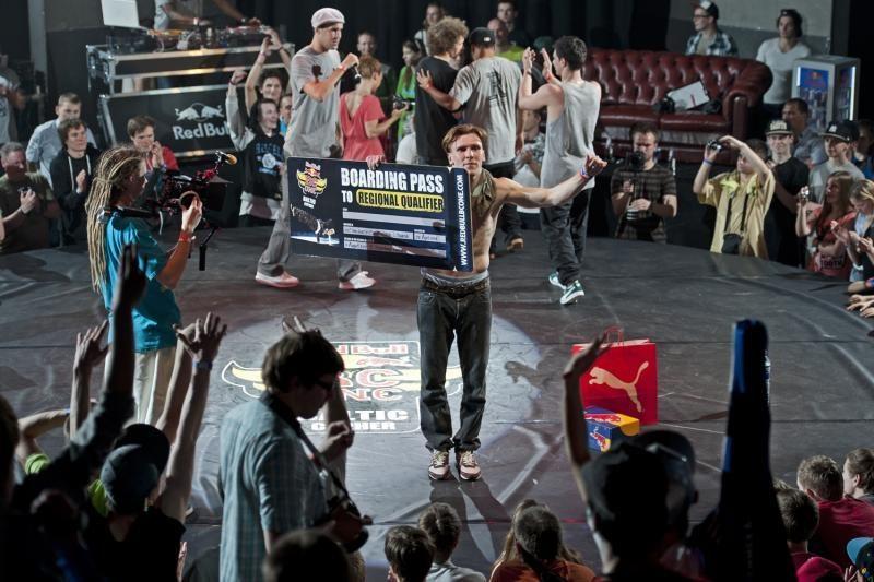 Baltijos šalių breiko šokių čempionate triumfavo estas Bboy Marek