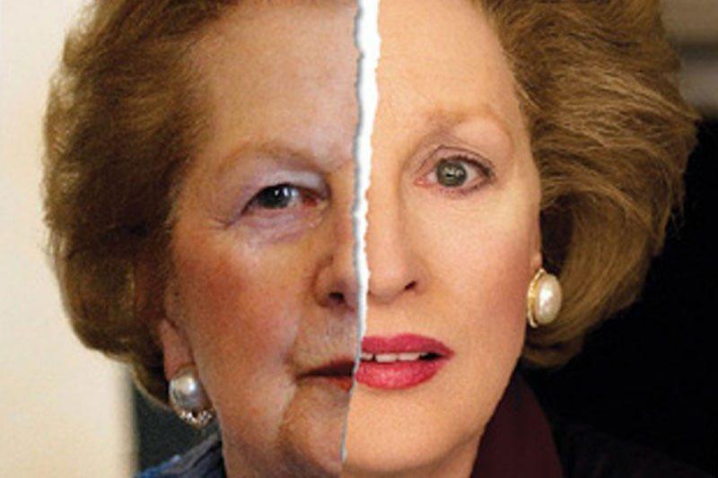 """""""Geležinė ledi"""" realybėje ir kine: Margaret Thatcher ir Meryl Streep"""