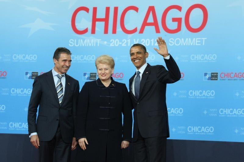 D.Grybauskaitė džiaugėsi stiprėjančiais dvišaliais ryšiais su JAV
