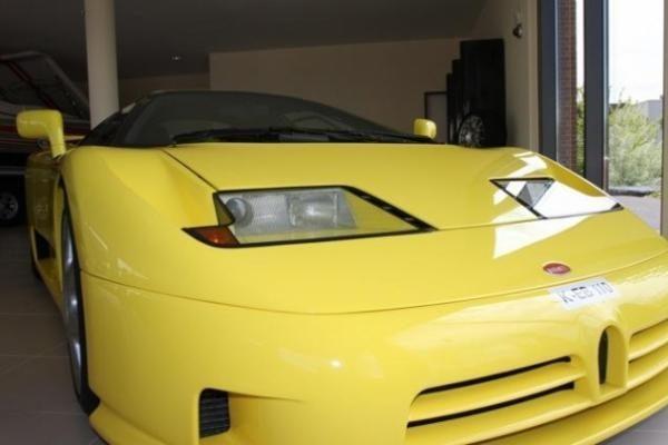 """M. Schumacherio """"Bugatti"""" – aukcione"""