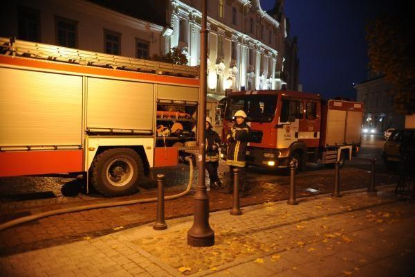 Kilo gaisras J.Tallat-Kelpšos konservatorijos pastate (papildyta)