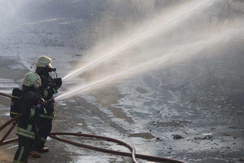 Alantoje supleškėjo senolės namas, įtariamas padegimas