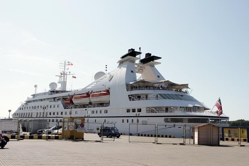 Klaipėdoje – vienas prabangiausių kruizinių laivų