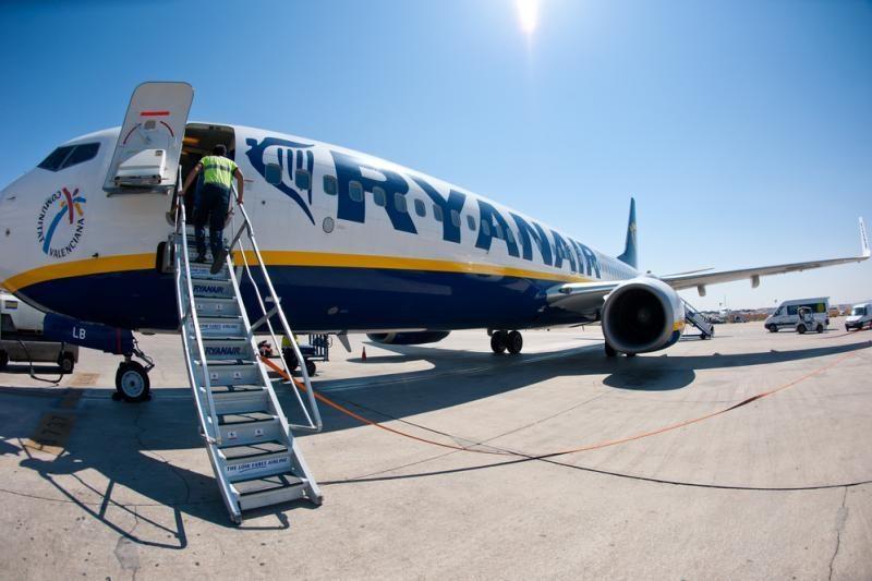 """""""Ryanair"""" nuo balandžio iš Kauno skraidys į Siciliją"""