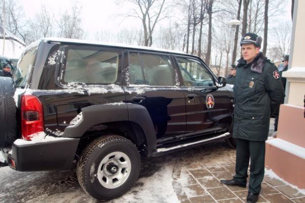 Pasieniečiai už daugiau nei 5 mln. litų įsigijo naujų automobilių