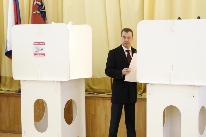 Rusijos prezidento rinkimus stebės internete (papildyta)