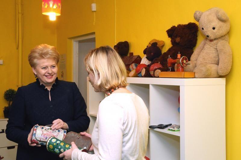Lietuvos trispalvė – sostinės Žaislų muziejui