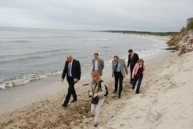 Nuplautas Palangos paplūdimys bus atstatytas