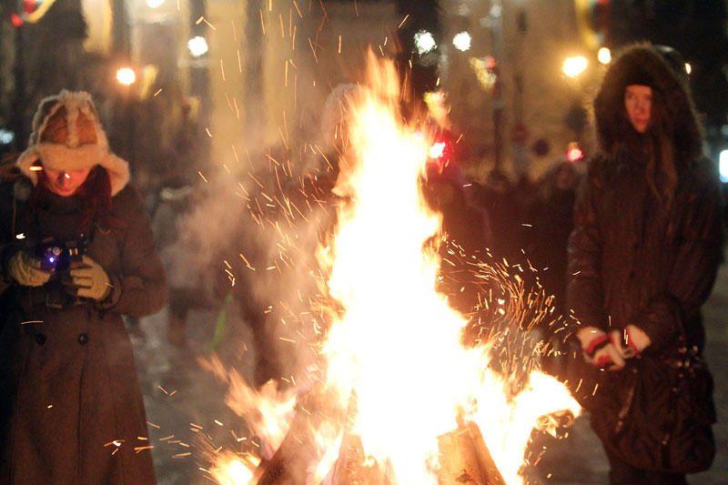Vasario 16-oji sostinėje: nuo laužų Gedimino prospekte iki koncertų