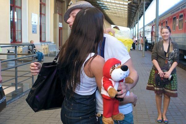 """Sasha Son(g) į """"Euroviziją"""" Maskvoje išvyko traukiniu"""