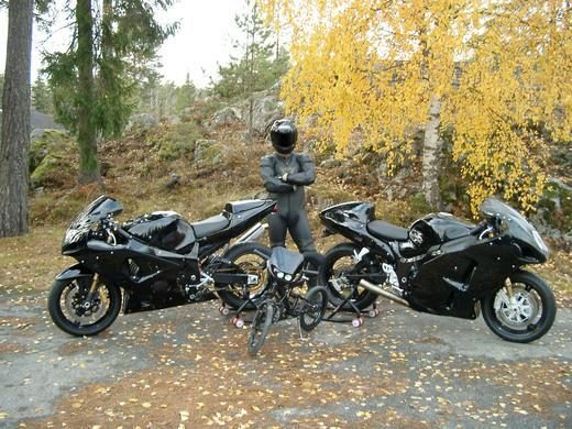 Garsiausias pasaulio eismo chuliganas dovanoja savo 499 AG motociklą