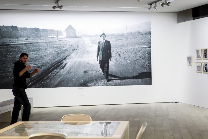 Sostinėje atidaryta A. Meko fotografijų paroda
