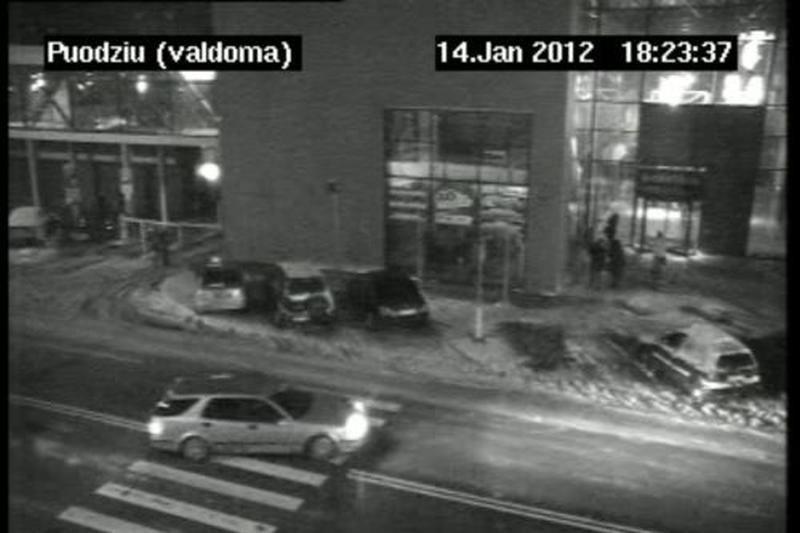 Policija - už Klaipėdos stebėjimą vaizdo kameromis