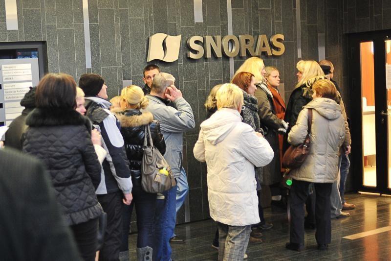"""""""Snoro"""" kreditorių galimybės priklausys nuo Konstitucinio Teismo"""