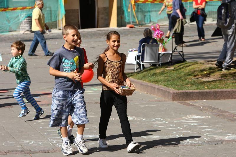Geradarių surinktos aukos – vargstantiems vaikams