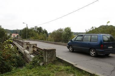 Nebeliko jokių kliūčių rekonstruoti Jiesios tiltą