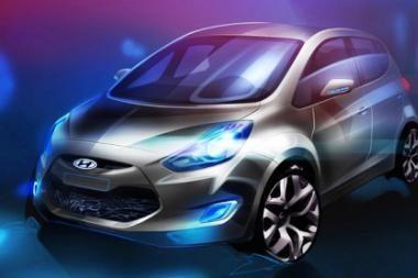 """""""Hyundai"""" daro pažangą MPV segmente su nauju """"ix20"""""""