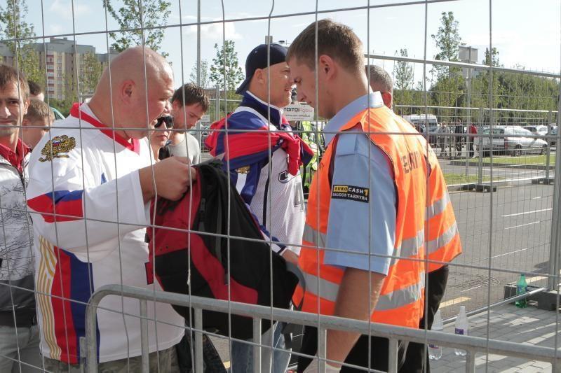 Rusijos ir Gruzijos sirgaliams – griežta patikra