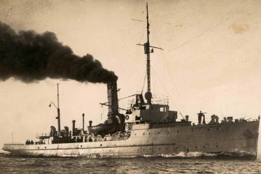 "Atrastas karo laivas ""Prezidentas Smetona""?"
