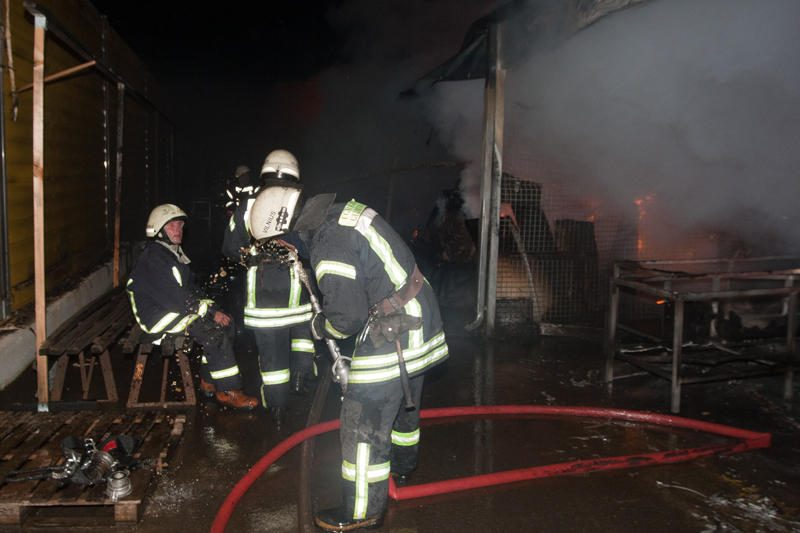 Vilniuje degė Gariūnai (dar papildyta)
