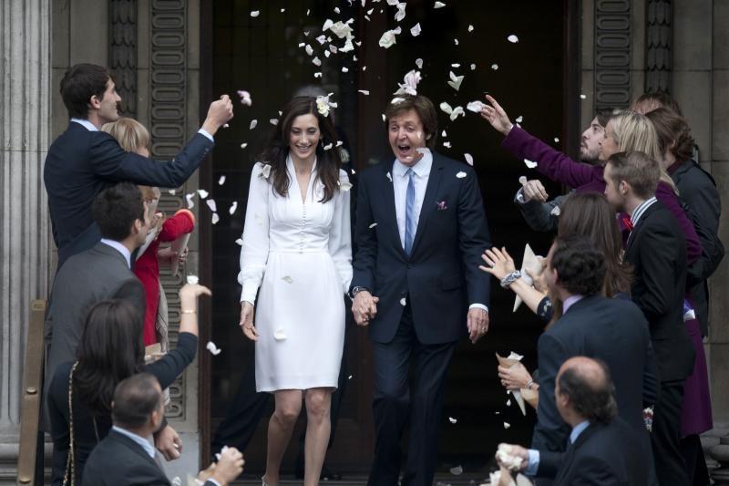 Londone trečiąkart vedė Paulas McCartney