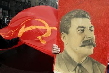 Iš V.Ivanovo konfiskuotas plakatas su Stalino atvaizdu ir skirta bauda
