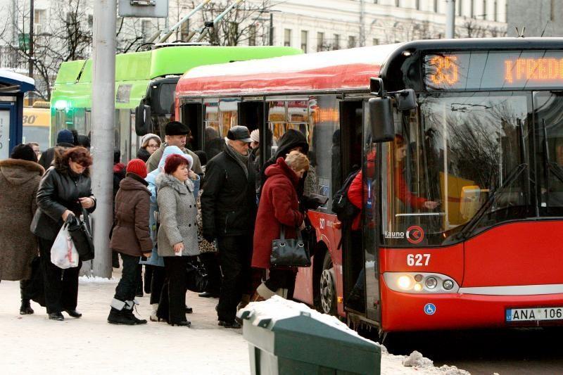 Švenčių laikotarpiu Kaune kursuos naktinis transportas
