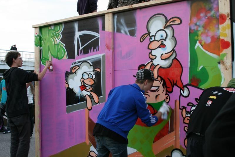 Už grafičių valymą teks mokėti namų savininkams
