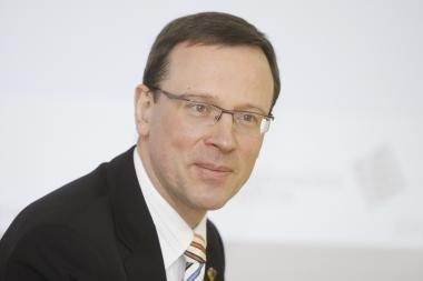 Buvęs ūkio viceministras A.Burkovskis vadovauja Turto bankui