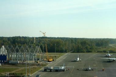 Kauno oro uoste baigtas rekonstruoti kilimo-tūpimo takas