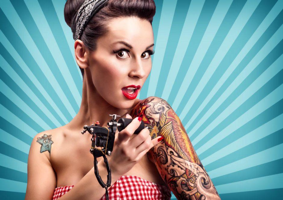 Tatuiruotės: sveikatai pavojinga mados kaina