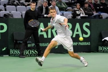 L.Grigeliui poroje su britu nepavyko laimėti ITF serijos turnyro