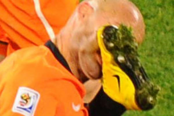 Į finalą keliauja olandai, rezultatu 3:2 įveikę Urugvajų