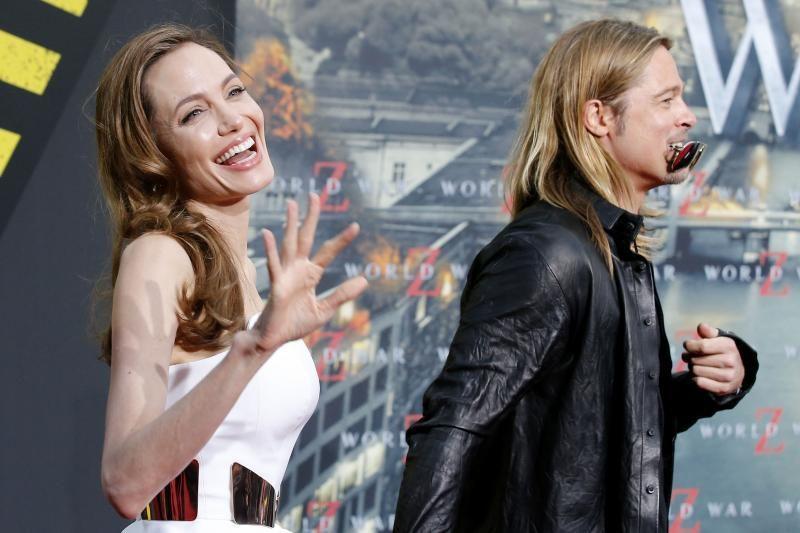 B. Pittui ir A. Jolie trūksta dar dviejų vaikų