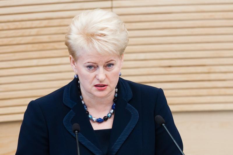 """Lenkija: prezidentės sprendimas – """"pavojingas žaidimas"""""""