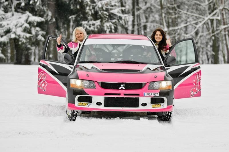 J.Survilaitė: naujas sezonas – naujas automobilis ir naujos ambicijos