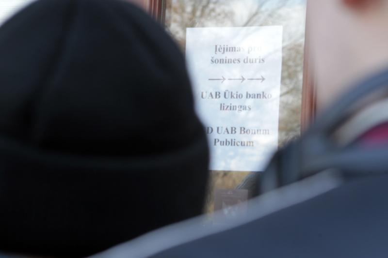Vilniuje prie buvusio ŪB apgulties nesulaukta
