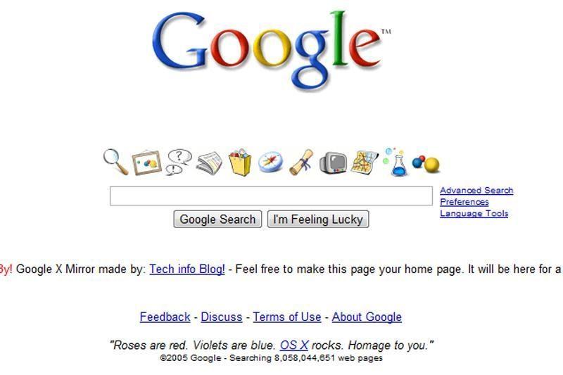 """""""Google"""": puslapio poziciją paieškoje lems ir elementų išdėstymas"""