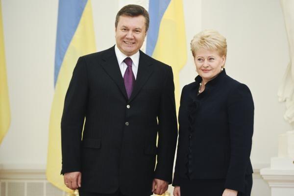 Ukrainos prezidentas lankosi Lietuvoje