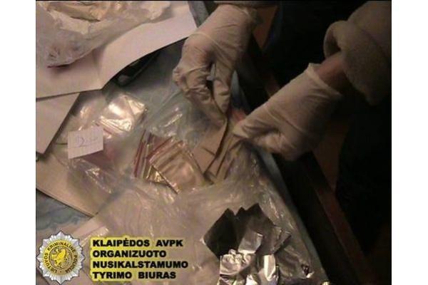 Uostamiestyje šiemet sulaikyti šeši heroino platintojai