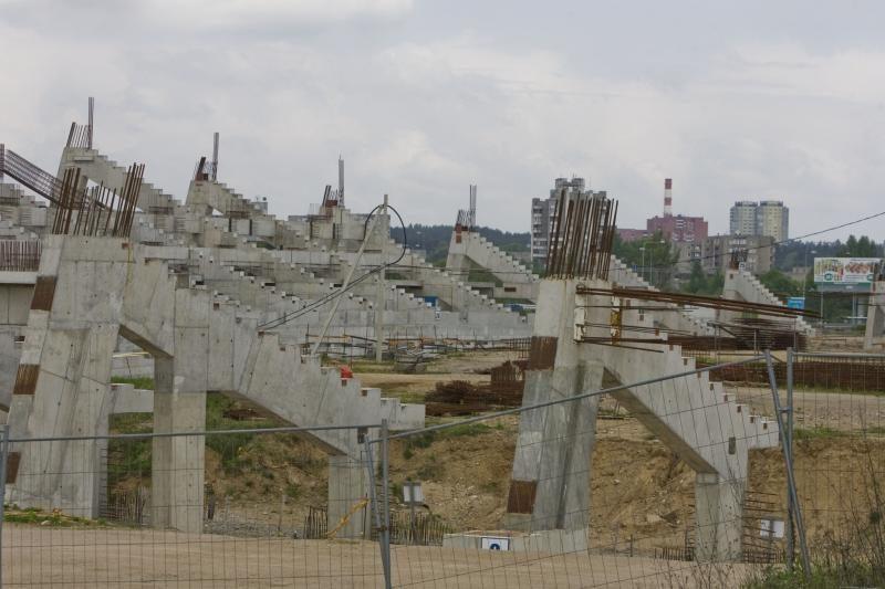Valdžia dar neturi nacionalinio stadiono finansavimo modelio