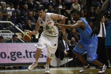 K.Lavrinovičiaus klubas pergale pradėjo Italijos pirmenybių pusfinalį