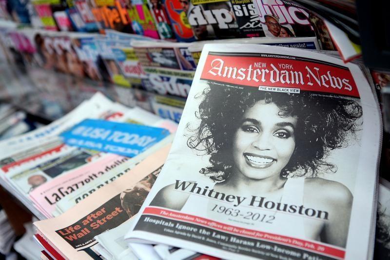 Whitney Houston palaidota Naujajame Džersyje