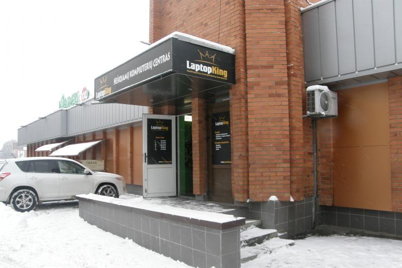 Vilniuje įžūliai apšvarinta kompiuterių parduotuvė