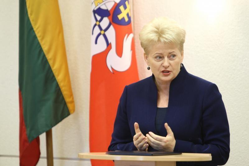D.Grybauskaitė: po rinkimų koaliciją gali sudaryti 4-5 partijos